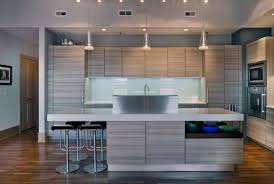 lucid lighting. beautiful contemporary kitchen that showcases the rule of three lucid lighting