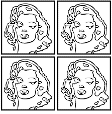 Small Picture knowledge andy warhol marilyn monroe fine art coloring for adults