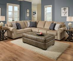 simmons albany pewter sectional. simmons gavin mushroom 2 piece sectional albany pewter