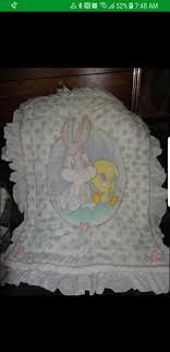 looney tunes crib bedding and mobile set for in san mateo ca offerup