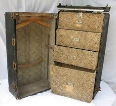 Steamer Trunk Furniture Antique Steamer Trunk Hartmann Gibraltarized Cushion Top Trunk