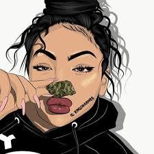 Cartoons ( @charmesart ) | Black girl art, Black art pictures, Girls  cartoon art