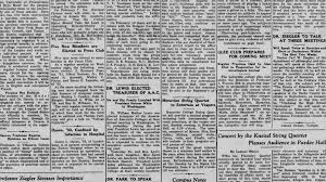 Newspaper Lafayette Newspaper Collection Digital Scholarship Services 5
