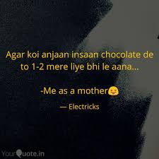 Best Chocolate Quotes Status Shayari Poetry Thoughts Yourquote