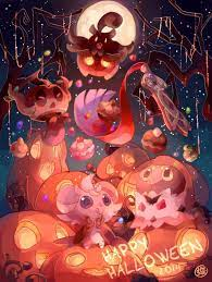 Anime Halloween HD Phone Wallpapers ...