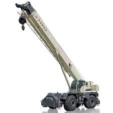 Terex Rt 780 80 Ton Rough Terrain Crane