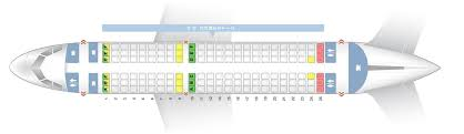 Airbus A319 Seating Chart Seat Map Airbus A319 100 British Airways Best Seats In Plane