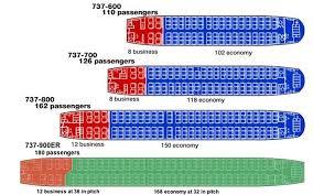 28 Judicious Boeing 737 700 Jet Seat Chart