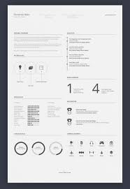 Minimalist Resume 100 Free Editable Minimalist Resume CV In Adobe Illustrator And 24
