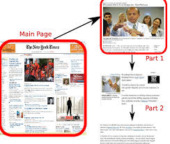 example of a newspaper article an example of displaying an online newspaper article the