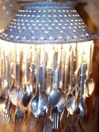into lighting. brilliant into 21 unique lighting design ideas recycling tableware and kitchen utensils into  fixtures intended into