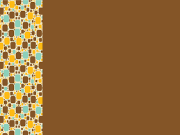 Brown Powerpoint Background Little Squares Powerpoint Templates Border Frames Brown