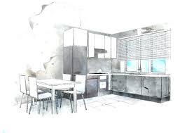 interior design sketches kitchen. Kitchen Design Sketch Google Sketchup Charming Interior Sketches Amazing Collection