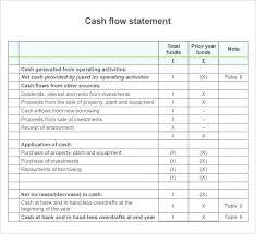 Cash Flow Statement Template Uk Template Method Statement Template Word Uk Cash Flow Sample 8