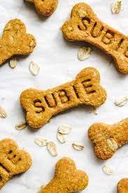 They are the perfect birthday treat! Vegan Pumpkin Dog Treats 4 Ingredients Okonomi Kitchen