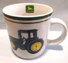 2 john deere tractor coffee mug cup nothing runs like a deere wheat gibson. Gibson John Deere Nothing Runs Like A Deere Tractor Coffee Mug Cup Ebay