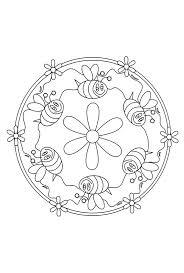 Mandala Bijtjes Kriebeldiertjes Mandalas Mandalas Para