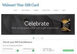 walmart visa gift card balance check