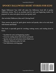 halloween stories spooky short stories for children halloween  halloween stories spooky short stories for children halloween short stories for kids volume 6 uncle amon 9781516839056 com books