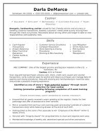 Resume Examples For Cashiers Retail Also Entry Level Job Resume ...