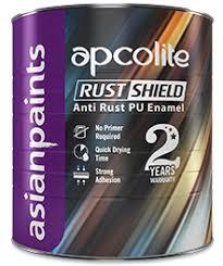 Apcolite Rust Shield - <b>Durable</b> Anti Rust Enamel by Asian <b>Paints</b>