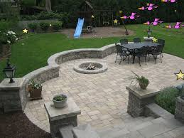 Stone Patio With Fire Pit Elegant Brick Patio With Fire Pit Best 25