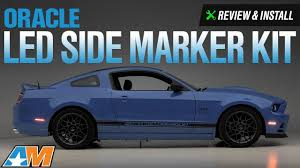 2014 Mustang Side Marker Lights 2010 2014 Mustang Oracle Led Side Marker Kit Smoked Review Install