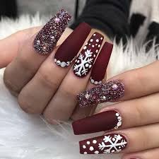 43 nail design ideas perfect for winter