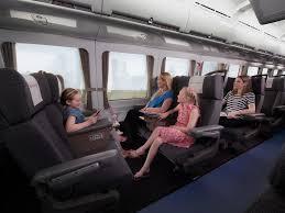 tilt train business cl family seating