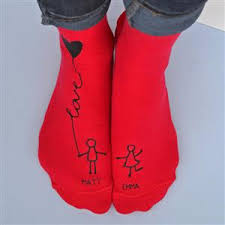 personalised socks me and you anniversary gift mygiftgenie