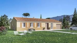 maison plain pied 5 chambres 105 m²