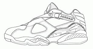 Small Picture Michael Jordan Sneakers Coloring Page Coloring Home