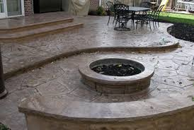 Concrete Patio Ideas Pictures Cost 2016 Design Plans