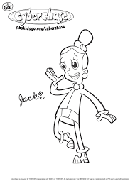 Small Picture Cyberchase Coloring Pages PBS Parents