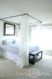 Diy Canopy Bed Wood Plans With Curtains Tent For Kid Bedroom Home ...