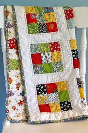 Jelly Sandwich Quilt | Quilting, yes, please! | Pinterest | Jelly ... & American Jane 9 Patch Baby Quilt | Made with a charm pack of… | Flickr Adamdwight.com