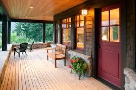 A pleasant veranda.