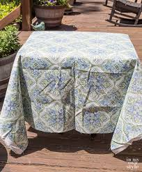 hoe to make chair cushion covers without piping or zippers
