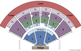 Pnc Music Pavilion Seating Chart Pnc Music Pavilion