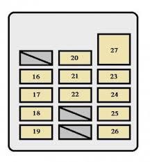 toyota tacoma (2001 2002) fuse box diagram auto genius toyota tacoma fuse box cover toyota tacoma (2001 2002) fuse box diagram