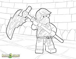 Ninjago Lego Colouring Pages Ninjago Lego Color Pages