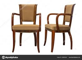 vintage art deco furniture. Vintage Art Deco Chairs Isolated On White Background \u2014 Stock Photo Furniture O