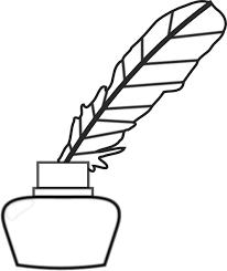 498x594 quill pen clip art
