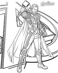 Small Picture coloring Coloring Pages Pinterest Thor