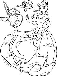 Coloriage Belle Princesse Dessin Imprimer Sur Coloriages Info