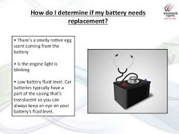 Windshield Experts Slideshare Battery