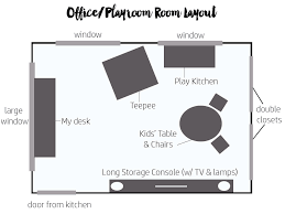 Office and playroom Contemporary Office Playroom Layout The White Buffalo Styling Co Designing The Officeplayroom Thewhitebuffalostylingcocom