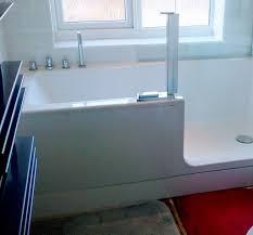 easy access shower bathtub artweger twinline 2 shower bathtub