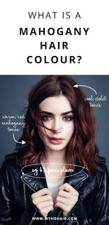 What Is A Mahogany Hair Colour