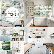 Kitchen decorating ideas Small Kitchen White Kitchen Decor Ideas The 36th Avenue White Kitchen Decor Ideas The 36th Avenue